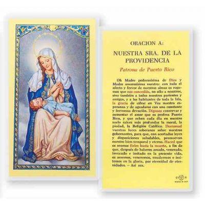 Oracion N.s. De La Providencia Holy Card - (Pack Of 31) -  - S24-278