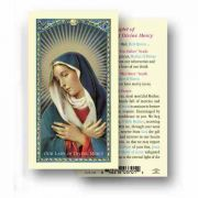 Our Lady Of Divine Mercy 2 x 4 inch Holy Card (2 Pack)