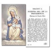 Our Lady Of Providencia Holy Card w/Gold Edges 100 Pack