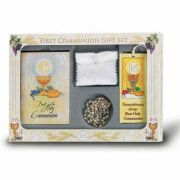 (Pearl Edition) 6 Piece Deluxe First Communion Gift Set