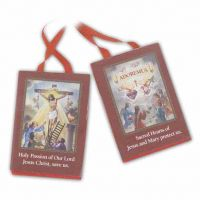 Red Scapular Of The Passion (6 Pack)