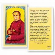 Saint John Neumann 2 x 4 inch Holy Card (50 Pack)