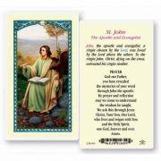Saint John The Evangelist - 2 x 4 inch Holy Card (50 Pack)