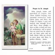 Saint Joseph The Worker - 2 x 4 inch Holy Card - (Pack of 100)