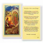 Saint Juan Diego 2 x 4 inch Holy Card (50 Pack)
