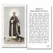 Saint Martin De Porres - 2 x 4 inch Holy Card - (Pack of 100)