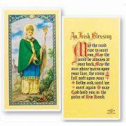 Saint Patrick-an Irish Blessing 2 x 4 inch Holy Card (50 Pack)