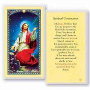 Spiritual Communion 2 x 4 inch Holy Card (50 Pack)