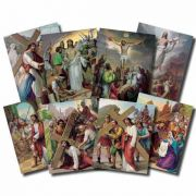 Stations Of The Cross Posters 12 x 16 inch Prints