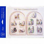 Ten Commandments 8 x 10 inch Print (6 Pack)