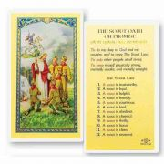 The Boy Scout Oath Of Promise 2 x 4 inch Holy Card (50 Pack)