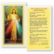 The Chaplet Of The Divine Mercy 2 x 4 inch Holy Card (50 Pack)