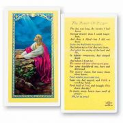 The Power Of Prayer 2 x 4 inch Holy Card (50 Pack)
