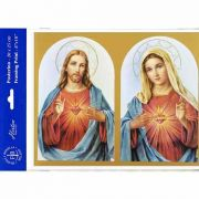The Sacred Hearts 8 inch x 10 inch Print (6 Pack)
