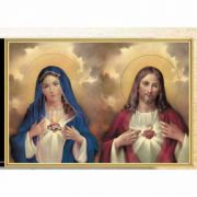 The Sacred Hearts 8x10 Gold Framed Everlasting Plaque (2 Pack)