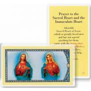 The Sacred Hearts Holy Card - (Pack Of 31)